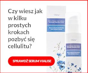 vialise - krem na cellulit bez dodatków chemicznym